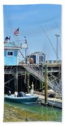 Plymouth Waterfront Hand Towel
