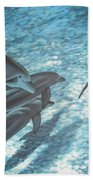 Pod Of Dolphins Bath Towel