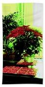 Poinsettia By Kef Bath Towel