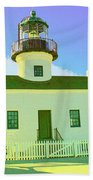 Point Loma Lighthouse Bath Towel