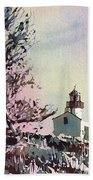 Point Loma Lighthouse- San Diego Bath Towel