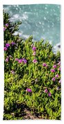 Point Reyes National Seashore Coast On Pacific Ocean Bath Towel