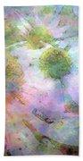 Pointillism Coneflowers 3571 Idp_3 Bath Towel