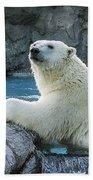Polar Bear Bath Towel