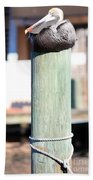 Pole Top Pelican Bath Towel