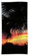 Ponce Inlet Florida Sunset Bath Towel