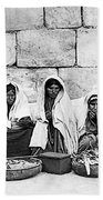 Ponfils 1898 Arab Women Bath Towel