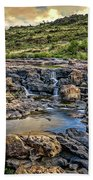 Pools And Waterfalls Bath Towel