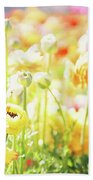 Poppies 2 Bath Towel