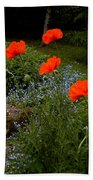 Poppy Foursome Bath Towel