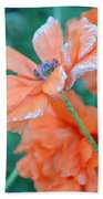 Poppy Passion Bath Towel