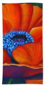 Poppy Pleasure Bath Towel