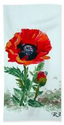 Poppy Bath Towel