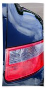 Porsche 911 Carrera S Tail Light Bath Towel