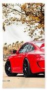 Porsche Gt3 Centerlock Adv1 3  Bath Towel