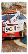 Porsche Gt3 Martini Racing - 02 Bath Towel