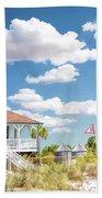 Port Boca Grande Lighthouse Bath Towel by Christopher Arndt
