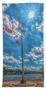 Port Of Florence Hand Towel