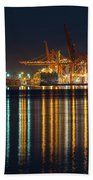 Port Of Vancouver In British Columbia Canada Hand Towel