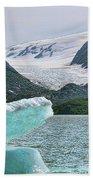 Porter Glacier Alaska  Bath Towel