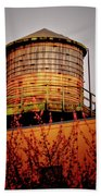 Portland Water Tower IIi Bath Towel