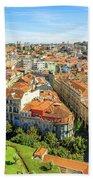 Porto Panorama Skyline Bath Towel