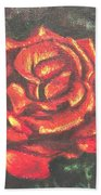 Portrait Of A Rose 2 Bath Towel