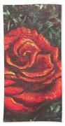 Portrait Of A Rose 4 Bath Towel
