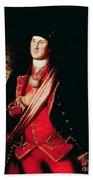 Portrait Of George Washington Bath Towel