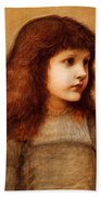 Portrait Of Gertie Lewis Bath Towel
