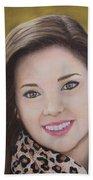 Portrait Of Kaitlyn Bath Towel