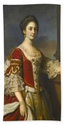 Portrait Of Lady Elizabeth Compton Later Countess Of Burlington Bath Towel