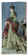 Portrait Of Madame Louis Joachim Gaudibert Bath Towel