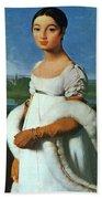Portrait Of Mademoiselle Riviae 1805 Bath Towel