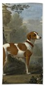 Portrait Of The Duke Of Hamilton's Hound Jewell Bath Towel