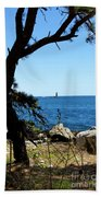 Portsmouth Harbor Light Bath Towel