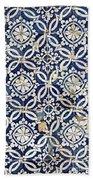 Portuguese Glazed Tiles Bath Towel