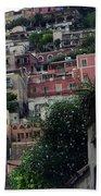 Positano, Amalfi,, Italy Bath Towel