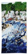 Potomac River At Great Falls  4 201687 Bath Towel