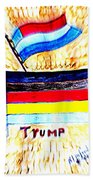 Potus For All Black Brown, Red, Yellow, White Bath Towel