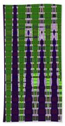 Power Tower And Agave Abstract Bath Towel