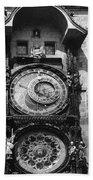 Prague Astronomical Clock 1410 Hand Towel