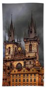 Prague Cathedral Hand Towel