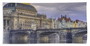 Prague, Czech Republic Bath Towel
