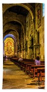 Prayers In The Cathedral Bath Towel
