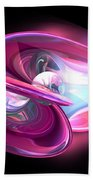 Precious Pearl Abstract Bath Towel