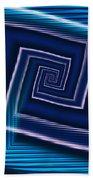 Predominantly Blue Bath Towel