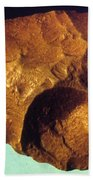 Prehistoric Flint Blade Bath Towel