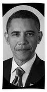 President Barack Obama Bath Towel