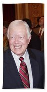 President Jimmy Carter - Nobel Peace Prize Celebration Bath Towel